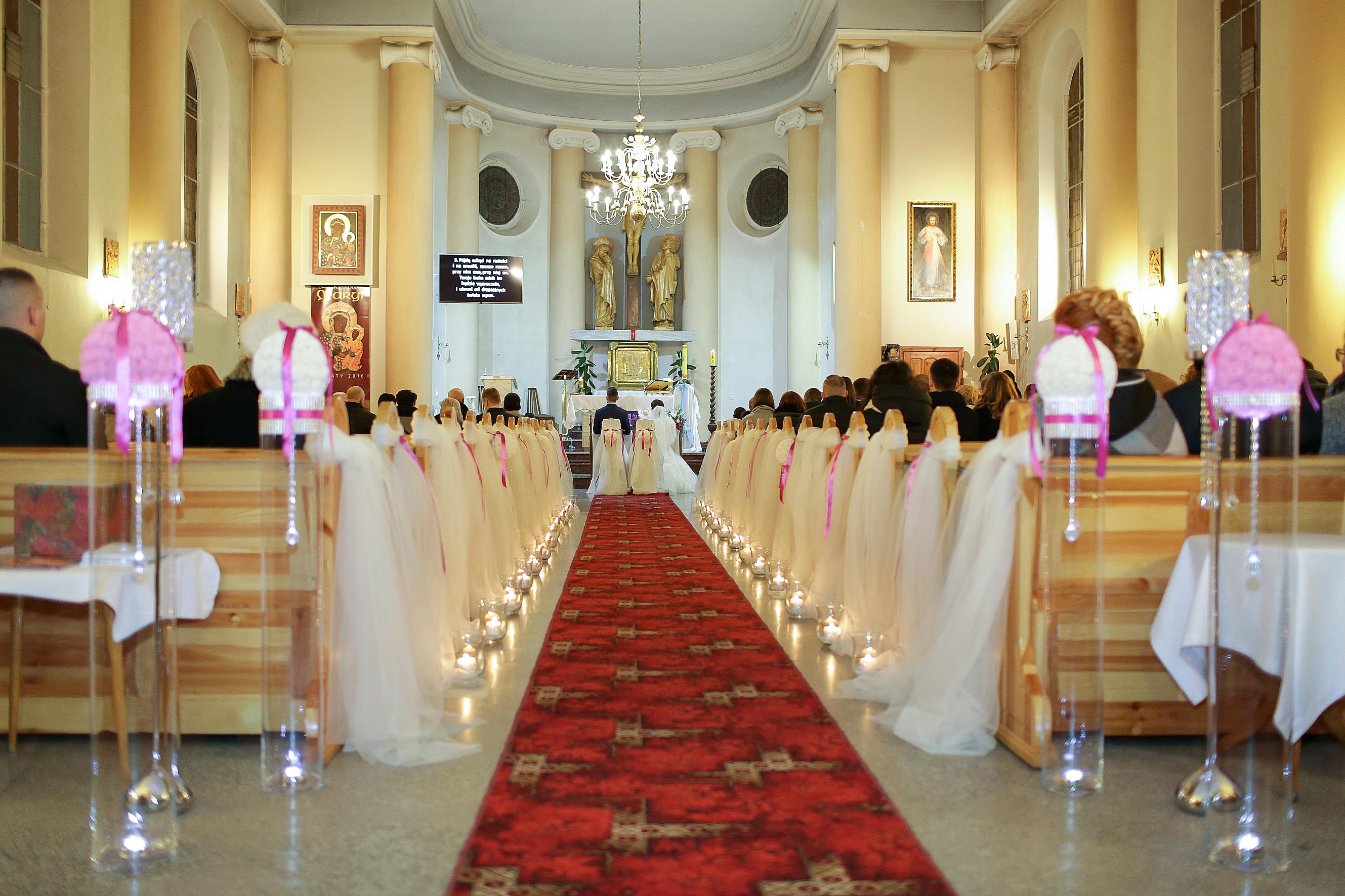 Dekoracja kościoła 16