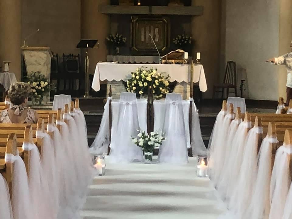 Dekoracja kościoła 1